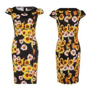 8a54d79b4e35 Voodoo Vixen Dresses - Voodoo vixen Sunflower 🌻rose pencil dress